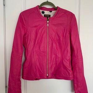 Authentic Leather ! Danier Fushia Leather Jacket